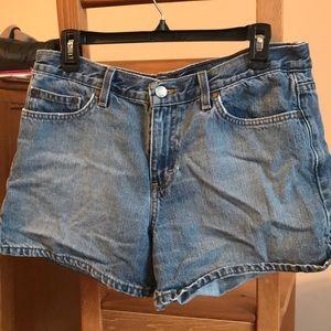 Calvin Klein classic denim shorts